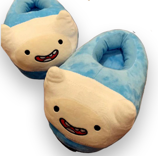 Adventure Time Character Plush Home Slipper - Finn