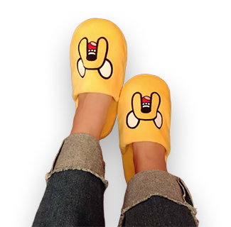 Adventure Time Character Design Home Slipper - Jake