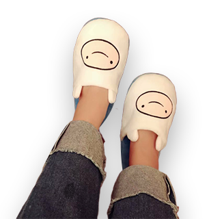 Adventure Time Character Design Home Slipper - Finn