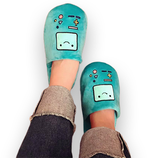 Adventure Time Character Design Home Slipper - BMO
