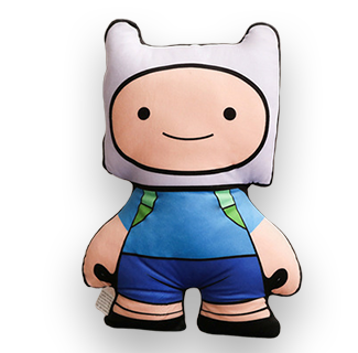 40cm Adventure Time Cartoon Character Plush Toy - Finn