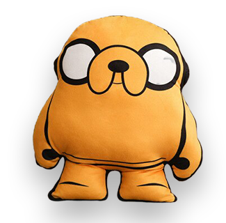 40cm Adventure Time Cartoon Character Plush Toy - Jake