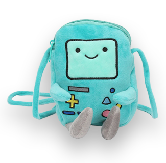 18cm Adventure Time Plush Bag - BMO