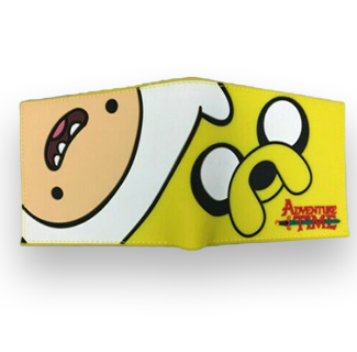 Adventure Time Cartoon Design Flip Wallet - Finn & Jake