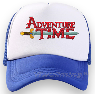 Adventure Time Baseball Cap (Blue)