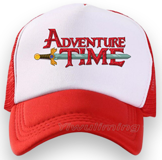 Adventure Time Baseball Cap (Red)