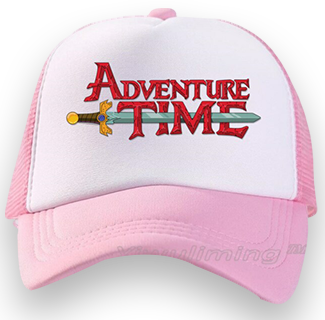 Adventure Time Baseball Cap (Pink)