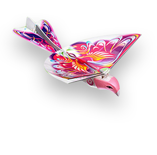 RC Electronic Flying Swallow Drone (Pink)