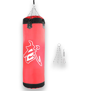 Martial Arts Training Empty Sand Bag (Red)