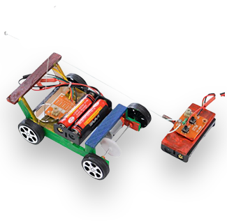 Physics Science Experiment Assembled Remote Control Car