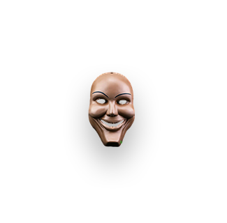 Human Smiling Mask from The Purge 1