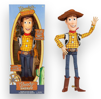 Toy Story - Woody The Cowboy Action Figure