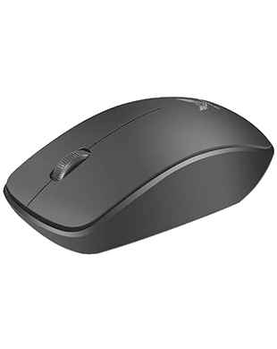 Universal Mini 2.4Ghz Optical Wireless Mouse (Black)