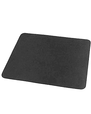 Black Optical Mouse Pad
