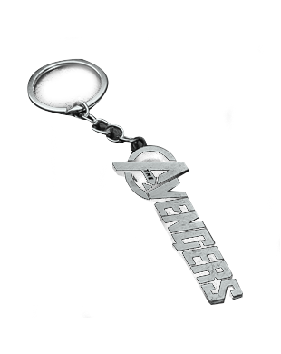 The Avengers Keychain (Silver)