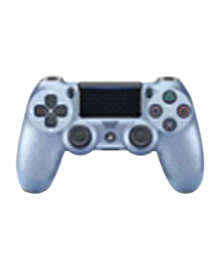 Sony PlayStation DUALSHOCK CUH-ZCT2G Wireless Controller (Titanium Blue)