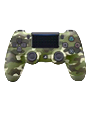 Sony PlayStation DUALSHOCK CUH-ZCT2G16 Wireless Controller (Green Camo)