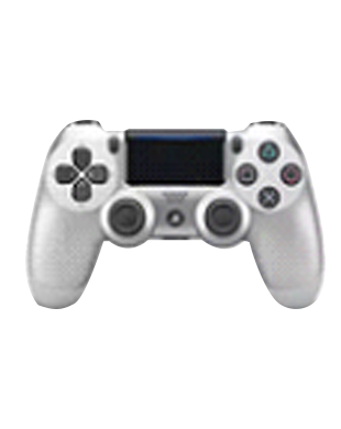 Sony PlayStation NEW DUALSHOCK CUH-ZCT2G15 Wireless Controller (Silver)