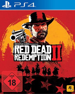 Sony PS4 Red Dead Redemption 2 Standard Edition