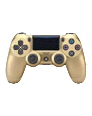 Sony PlayStation DUALSHOCK CUH-ZCT2G14 Wireless Controller (Gold)