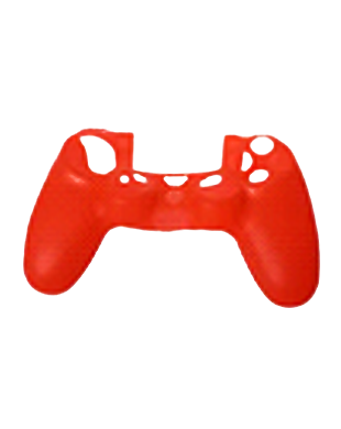 PS4 Controller Silicone Protective Skin Red