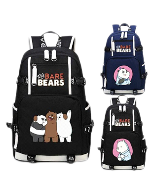 We Bare Bear Casual Backpack