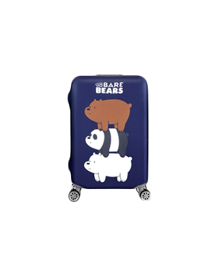 We BARE BEARS Elastic Travel Luggage Cover (26-28)