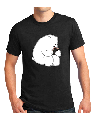 We Bare Bears Graphic Fashion Streetwear Cotton T Shirt