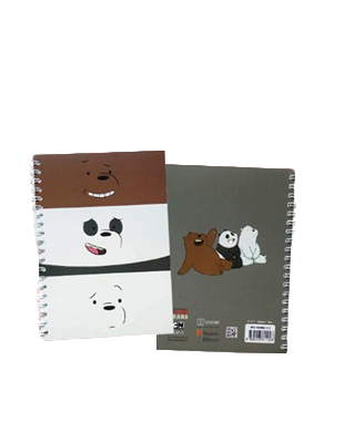 We Bare Bears Notebook