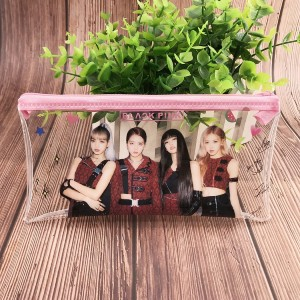 Blackpink Transparent Stationery Pouch