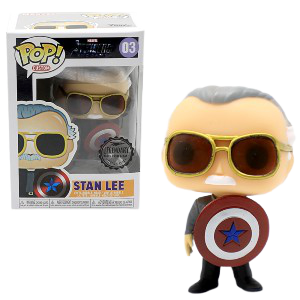Funko Pop - Stan Lee with Capt's Shield Action Figure