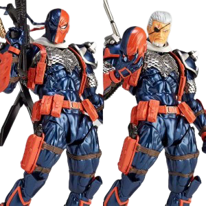 DC Amazing Yamaguchi Revoltech Series NO.11 Deathstroke Action Figure